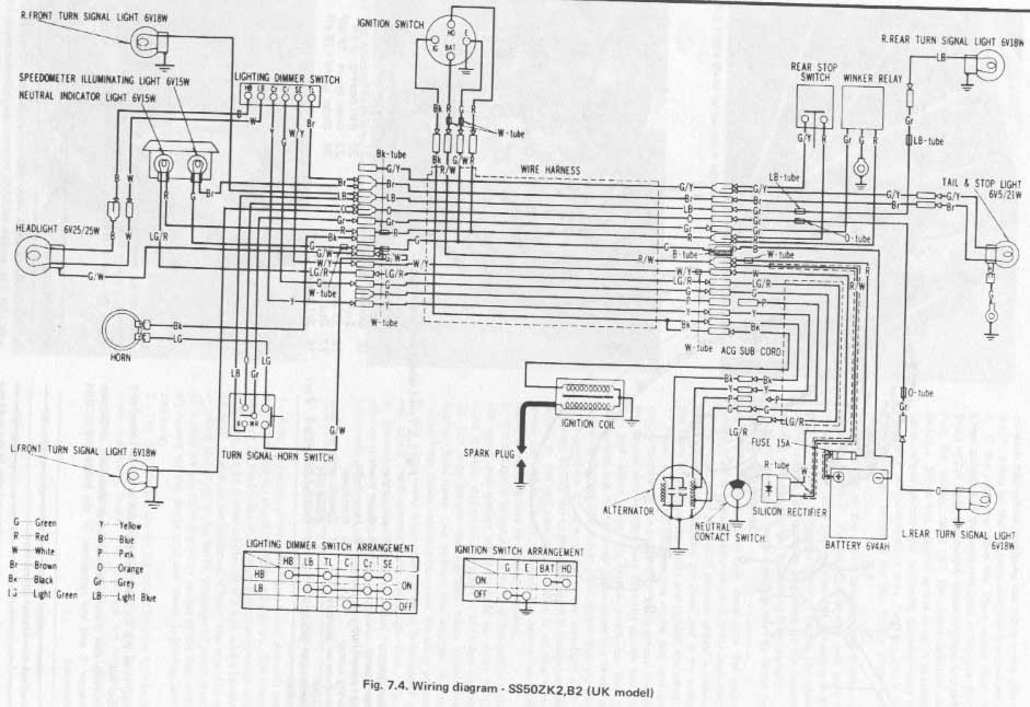honda st70 wiring diagram honda wiring diagrams